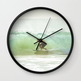 Gnarly Barrel - GoldCoast Wall Clock
