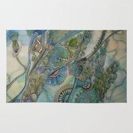 Ocean Botanical Rug