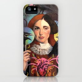 Midnight Dialogue iPhone Case