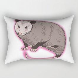 Shy Possum Rectangular Pillow