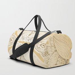 Flower Mandala 8 Duffle Bag