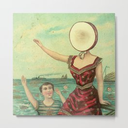 Neutral Milk Hotel - In the Aeroplane Over the Sea Metal Print