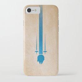 Jedi lightsaber, starwars, light side. iPhone Case