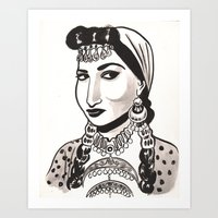 Naima Akef Art Print