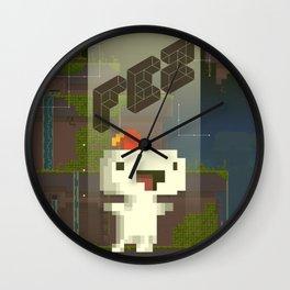 FEZ: Gomez Wall Clock