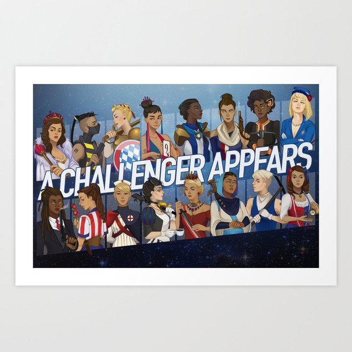 Challenger Art Print