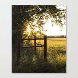 Oklahoma Summer Canvas Print