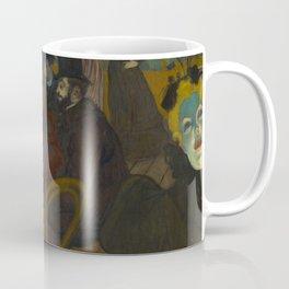 Henri de Toulouse-Lautrec - At the Moullin Rouge Coffee Mug