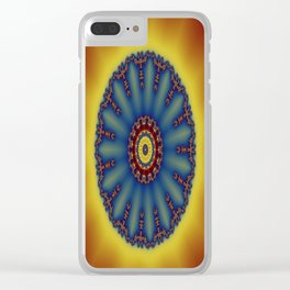 """kaliedoscope/Mandala  - """"Shining"""" Clear iPhone Case"""