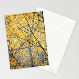 trees IX Stationery Cards