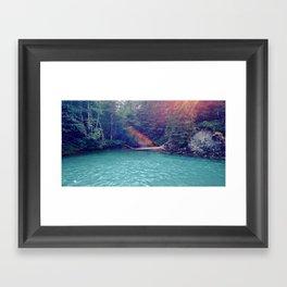 Sunshine Lagoon Framed Art Print