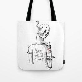 Meat Puppet Tote Bag
