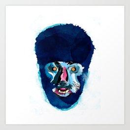 hombrelobo Art Print