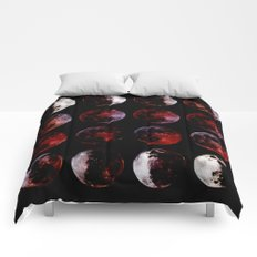 Blood Moon Rising Comforters