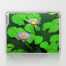 Water Lily Painting  Laptop & iPad Skin