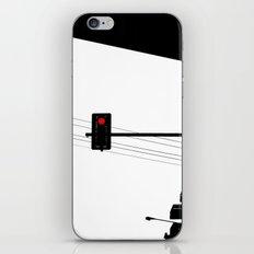 Traffic lights iPhone & iPod Skin