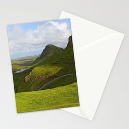 impressions of scotland - quiraing III Stationery Cards