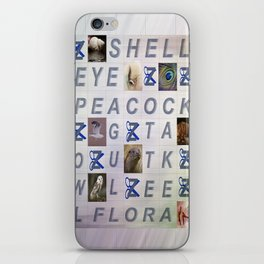 WORDSEARCH LOVE---bits and pieces iPhone Skin