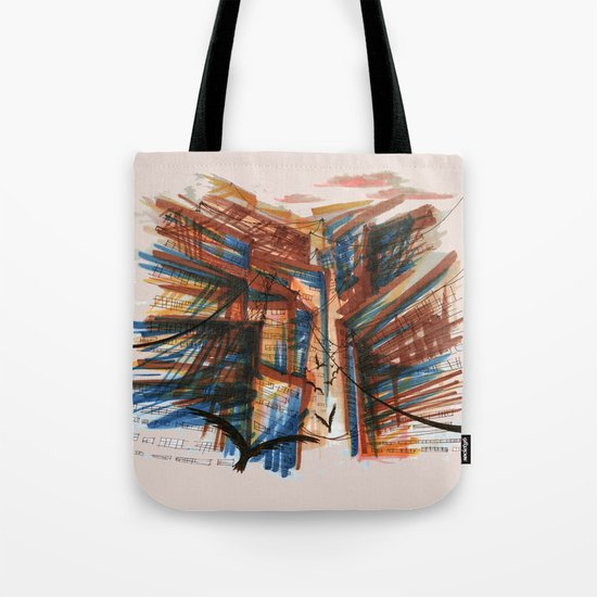 The City pt. 3 Tote Bag