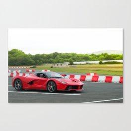 LaFerrari at speed Canvas Print