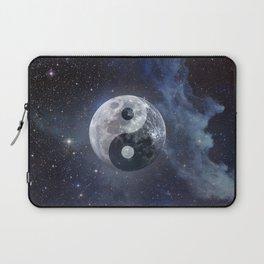 Yin Yang Moon Laptop Sleeve