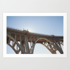 Route 66 | Colorado Street Bridge | Pasadena Art Print