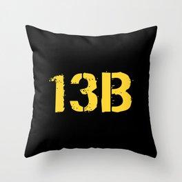 13B Cannon Crewmember Throw Pillow