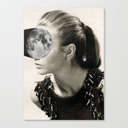 Fill the moon ll (2015) Canvas Print