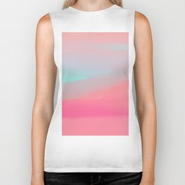 Rose Quartz Haze Biker Tank