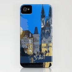 Praha night view Slim Case iPhone (4, 4s)