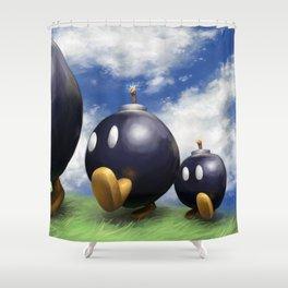 Bob-omb Battlefield Shower Curtain