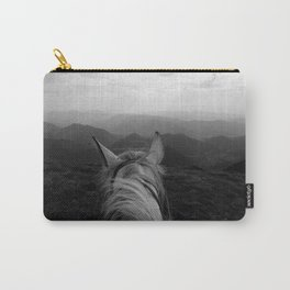 Between the ears of my horse Carry-All Pouch
