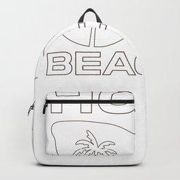 Summer Salty Hola Beaches Backpack