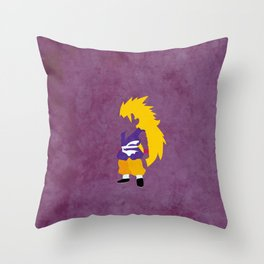 SSJ3 Saiyan Throw Pillow