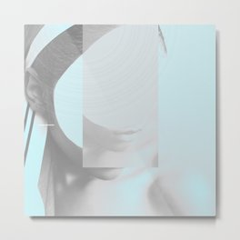 """face reAlity as it is not II"""" Metal Print"""