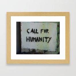 Humanity Framed Art Print