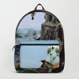 When Horses Met The Seas Backpack