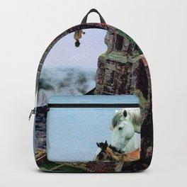 When Horses Met The Seas Backpack
