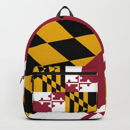 Flag of Maryland, High Quality image Backpack