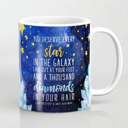Star and Diamonds Coffee Mug