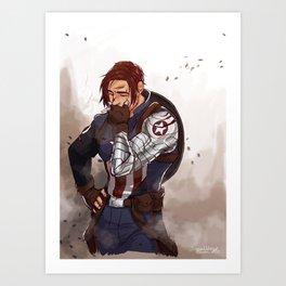 buckycap Art Print