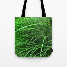 470 - Abstract Grass Design Tote Bag