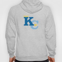 Kansas City Sports Double Blue Hoody