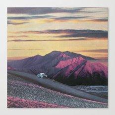 Aubergine Requiescence Canvas Print