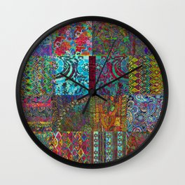Bohemian Wonderland Wall Clock