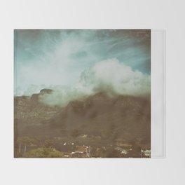 Over the Mountain Throw Blanket