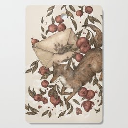 Coyote Love Letters Cutting Board