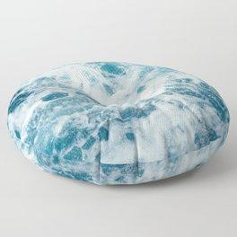 Sea Swirl Floor Pillow