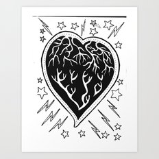Love Muscle.. Art Print