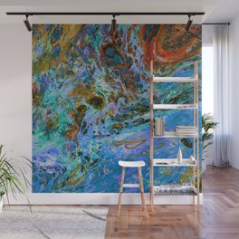 Swirling Tides Wall Mural
